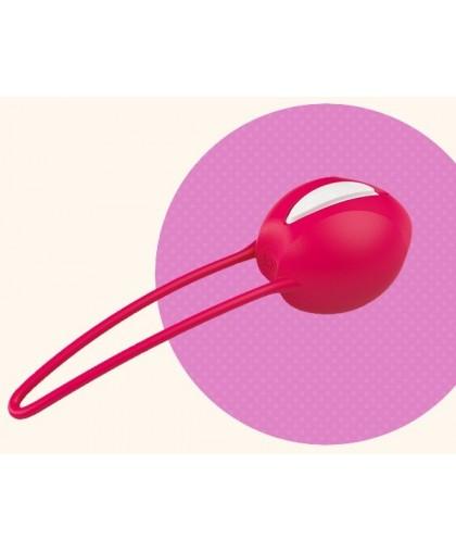 Красный вагинальный шарик Smartballs Uno