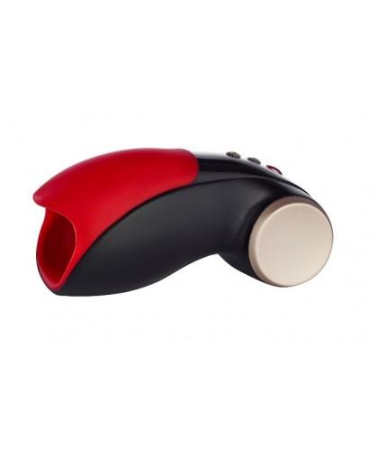 Чёрно-красный вибромастурбатор Cobra Libre 2