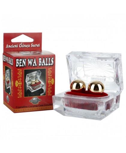 Вагинальные шарики Ben WA из тяжелого металла