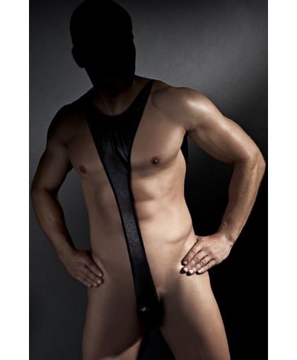 Эротическое боди Derrick из ткани с wet-эффектом