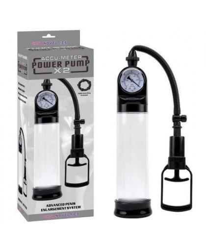 Вакуумная помпа с манометром Accu-Meter Power Pump X2
