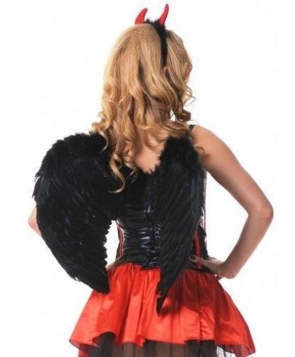 Крылья ангела (60*50 см) черные