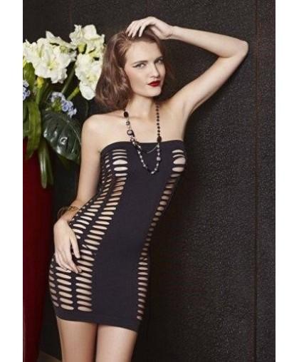 Платье с прорезями по бокам