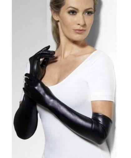 Перчатки Госпожи wet look