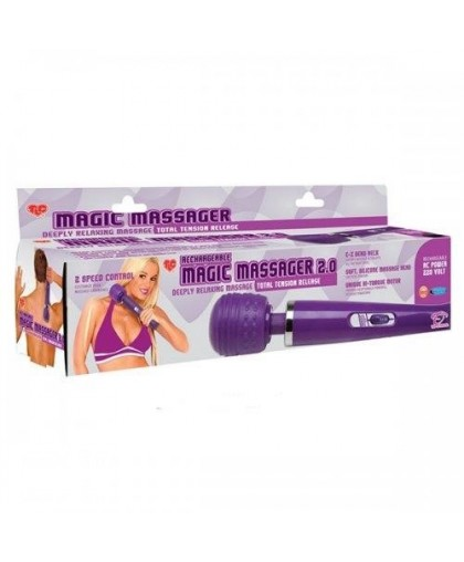 Массажер TLC® Rechargeable Magic Massager 2.0