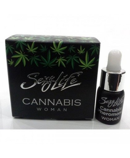 Концентрат феромонов для женщин Sexy life Cannabis Pheromone
