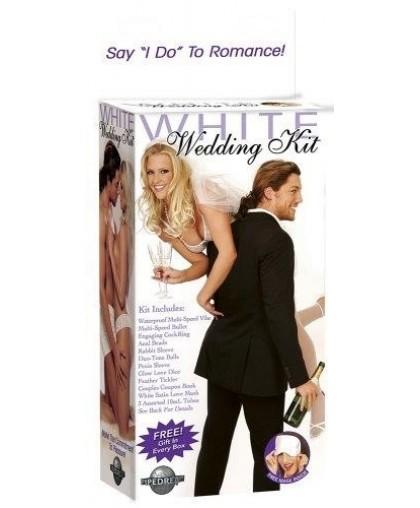 Секс набор молодоженам WHITE WEDDING KIT