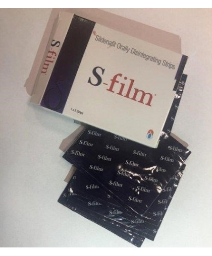 Sildenafil Orally Disintegrating Strips Дженерик Виагры  1 пластинка