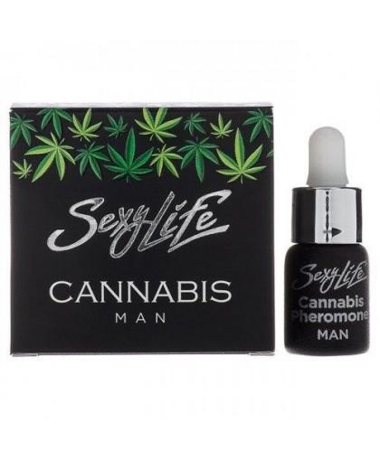 Концентрат феромонов для мужчин Sexy life Cannabis Pheromone