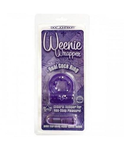 Кольцо эрекционное с вибрацией Weenie Wrapper