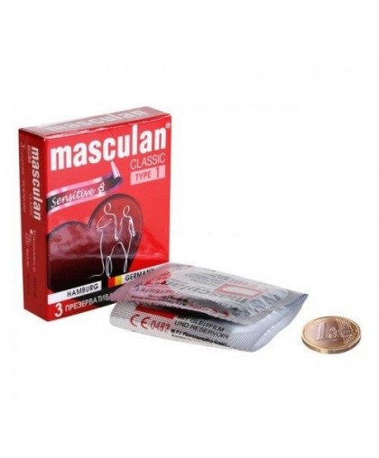 """Презервативы Masculan тип 1 """"НЕЖНЫЕ"""""""