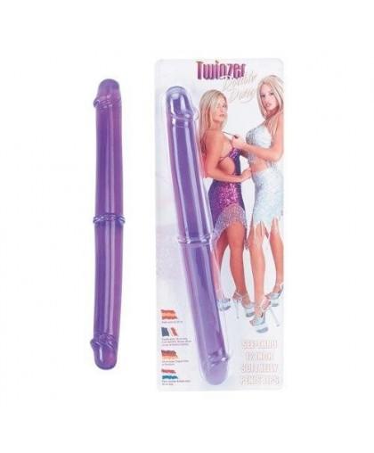 Двухсторониий фаллоимитатор Twinzer Double Dong