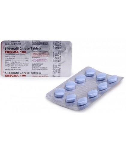 Eregra Дженерик 100 таблеток (Силденафил)