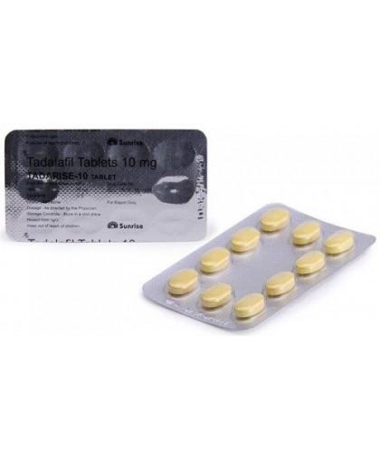 Tadarise 10мг (Дженерик Сиалиса) 30 таблеток