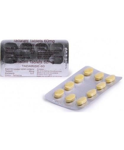 Tadarise 60мг (Дженерик Сиалиса) 20 таблеток