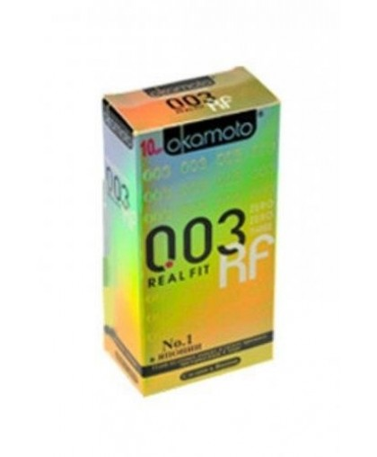Презервативы OKAMOTO 003 Real Fit №10