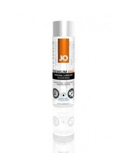 Анальный охлаждающий лубрикант обезболивающий на силиконовой основе JO Anal Premium COOL