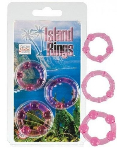 Комплект из 3-х эрекционных колец Island Rings