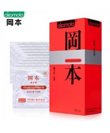 Презервативы Okamoto Skinless Skin Ультратонкие (10 шт)