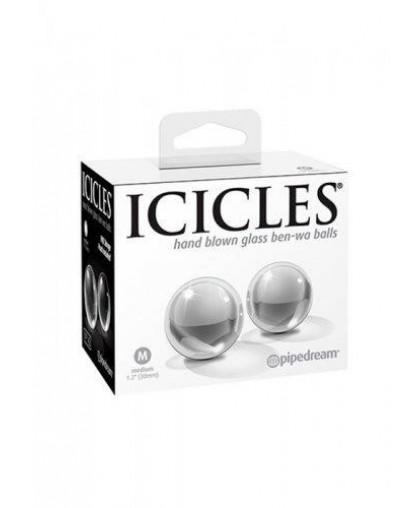Стеклянные вагинальные шарики Glass Ben-Wa Balls Medium