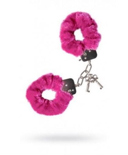 Наручники розовые Love Cuffs Theatre