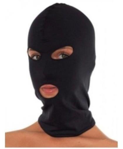 Маска «Бандитка» с прорезями для глаз и рта