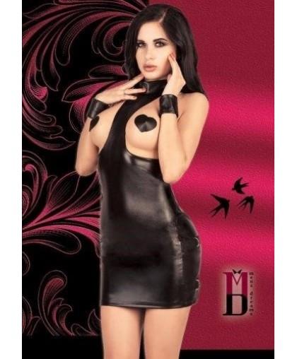 Платье с открытой грудью + пестис