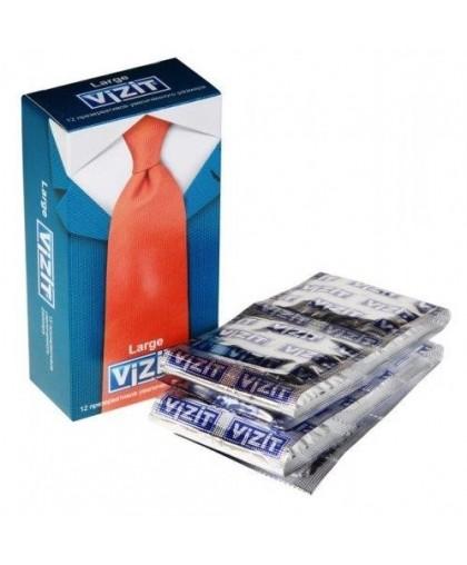 Презервативы VIZIT Large увеличенного размера (12 шт.)