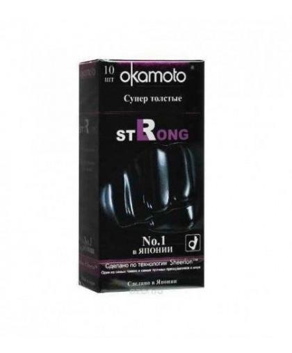 Презервативы OKAMOTO Strong №10 (10 шт)