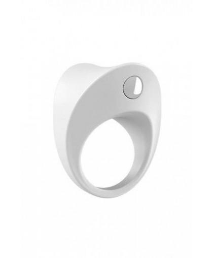 Эрекционное кольцо OVO закругленной формы с вибрацией силиконовое