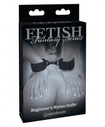 Наручники мягкие с карабином Beginner's Nylon Cuffs