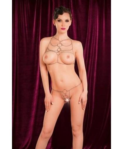 Комплект бикини из цепочек TOYFA THEATRE