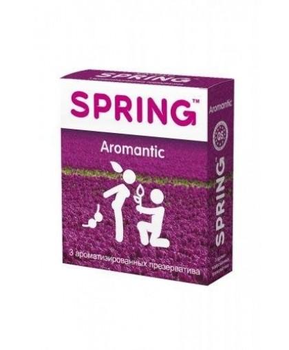 Презервативы Spring Aromatic-ароматизированные, 3 шт
