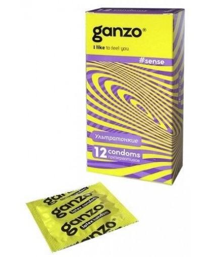 Презервативы GANZO SENSE No12 Ультратонкие