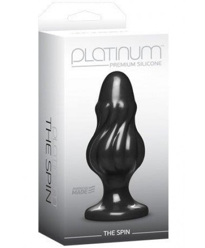 Анальная пробка Platinum Premium Silicone The Spin