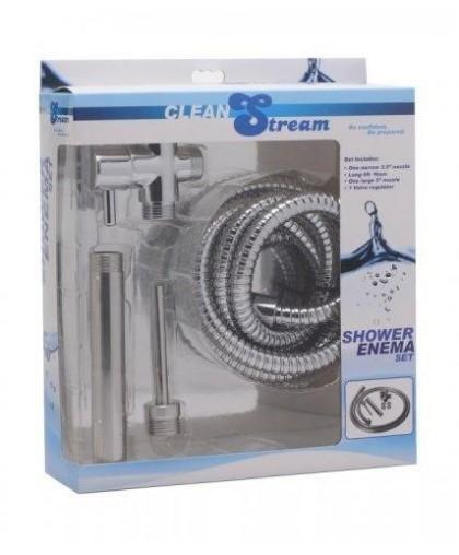 Набор для анального душа - CleanStream Shower Enema System