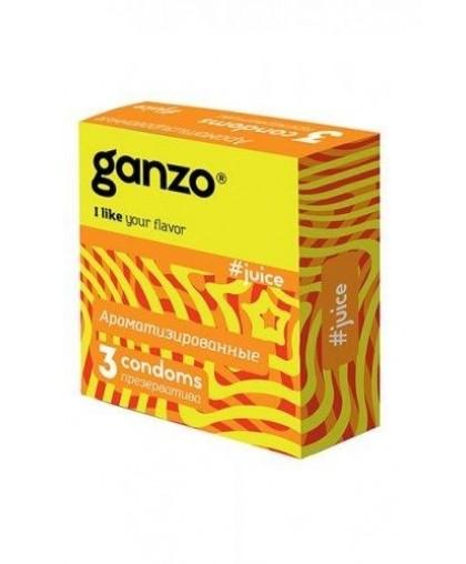 Презервативы Ganzo Juice № 3