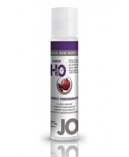 Ароматизированный любрикант JO Flavored Sweet Pomegranate