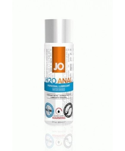 Анальный согревающий лубрикант JO Anal H2O Warming