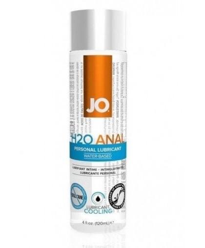 Анальный охлаждающий лубрикант JO Anal H2O COOL