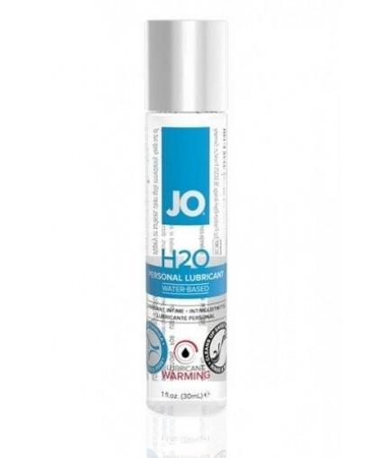 Возбуждающий любрикант на водной основе JO Personal Lubricant H2O Warming