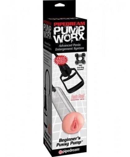 Помпа для мужчин Pump Worx Beginner's Pussy Pump