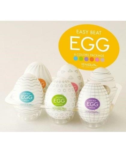 Мужской набор японских мастурбаторов Tenga Egg Kit (6 шт.)